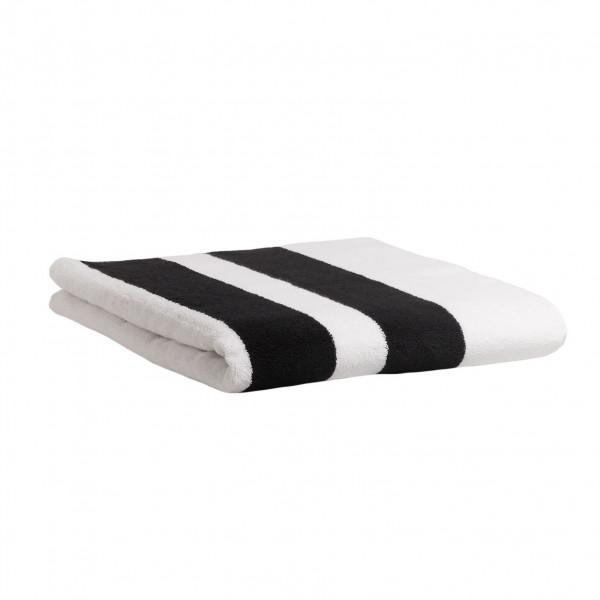 Handtuch mit Streifen