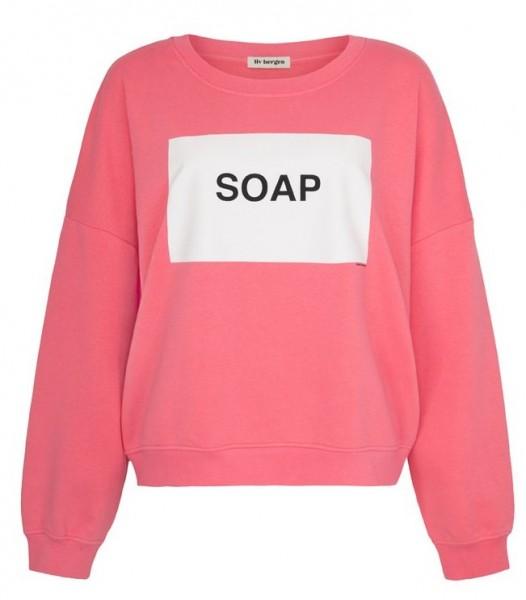 Oversize Sweatshirt mit Print SOAP