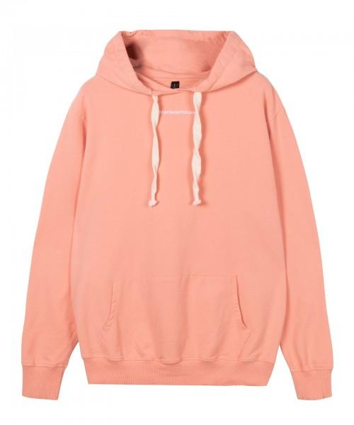 Hoodie Sweatshirt loose fit Terrakotta & Caramel