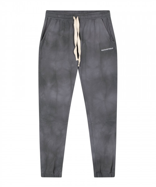 Cropped Jogger mit Allover-Tie-Dye-Print