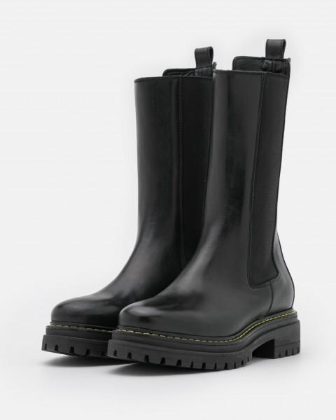 Combat Boot / Chelsea Boots NATALIE in Schwarz-Copy