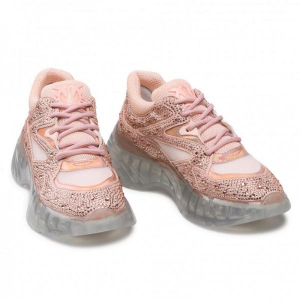 Sneakers Rubino Diamond in Koralle