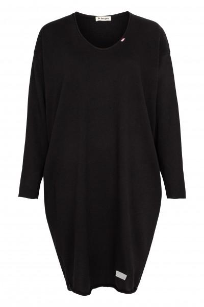 Jerseykleid mit Langarm, Taschen und Rückenprint BELINDA