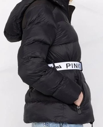 Steppjacke mit Kapuze Invicta X Pinko in Schwarz