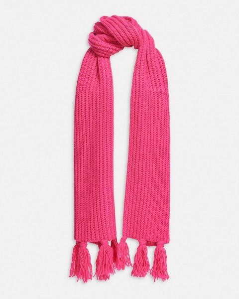 Langer Schal Patentmuster in 4 Farben