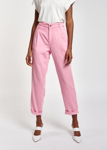 Hose loose fit Color Denim light Pink