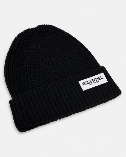 Mütze gerippt mit Logo in 4 Farben