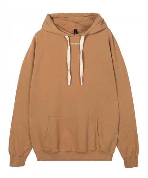 Hoodie Sweatshirt loose fit mit Logo oder Streifen