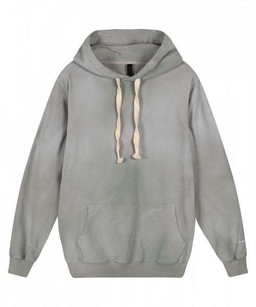 Sweatshirt / Hoodie Tie Dye in Grau