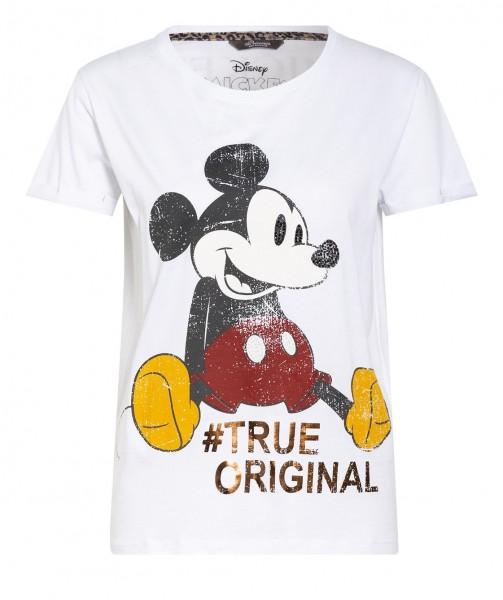 T-Shirt aus Baumwoll-Mix mit Mickey Mouse Print true