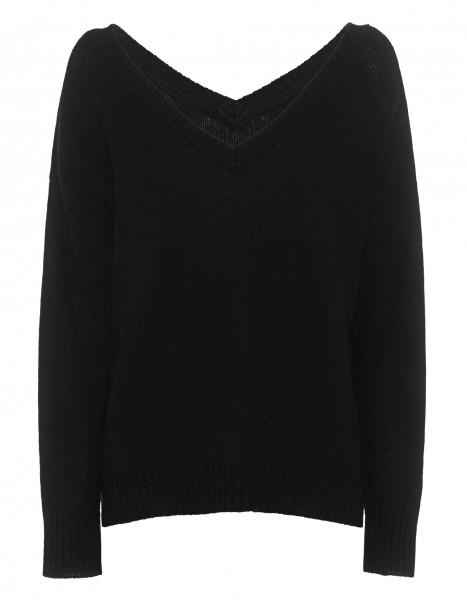 Pullover mit V-Ausschnitt in Cashmere
