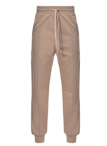 Jogging Pants in Nude