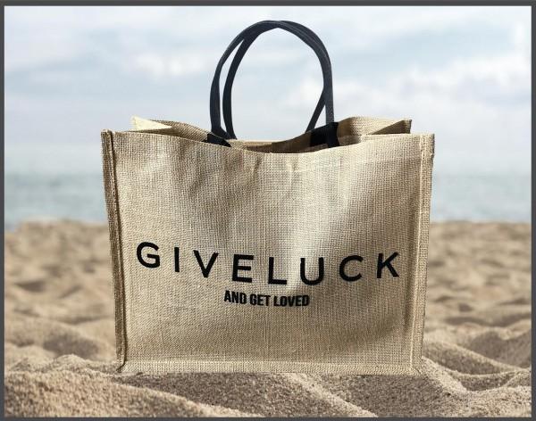 Jute Shopper Sylt Classic Bag Natur GIVELUCK
