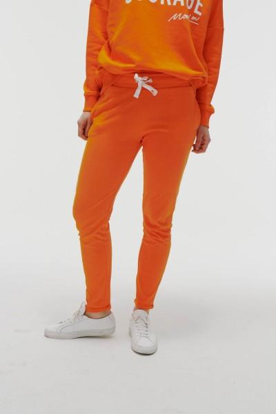 Jogginghose in Orange