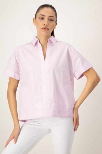 Bluse mit überschnittenem Arm Rose