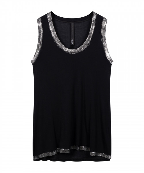 "Top mit Folienprint ""Rip Singlet"""