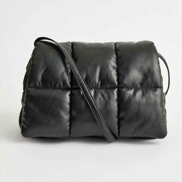 Clutch Bag puffer Lederimitat
