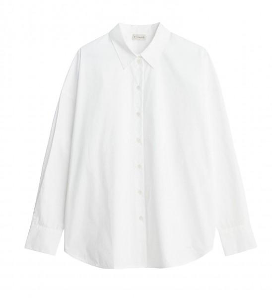 Hemd Oversize in Bio Baumwolle in Schwarz & Weiß