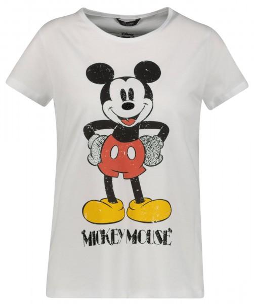 T-Shirt aus Baumwoll-Mix mit Mickey Mouse Print